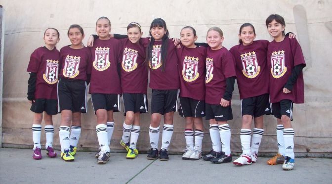 U11G Gonzalez Team Ready for More!