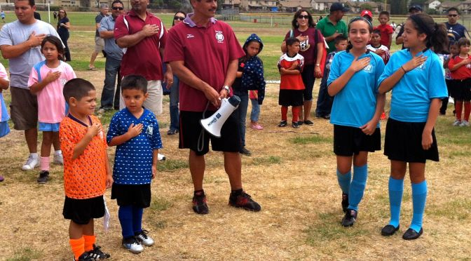 AYSO Opening Day Was About Fun and Futbol!