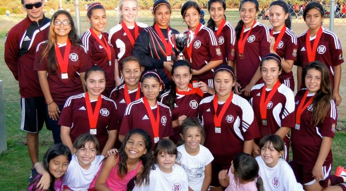 A 'South Bay United' Squad Wins Rangers Thanksgiving Tourney