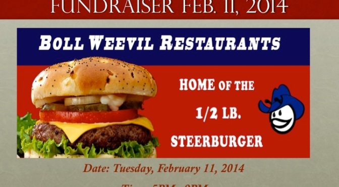 Fut-Boll Fundraiser, Thanks to Boll Weevil