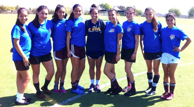 Matrix Players Shine at National Guard Soccer Clinic