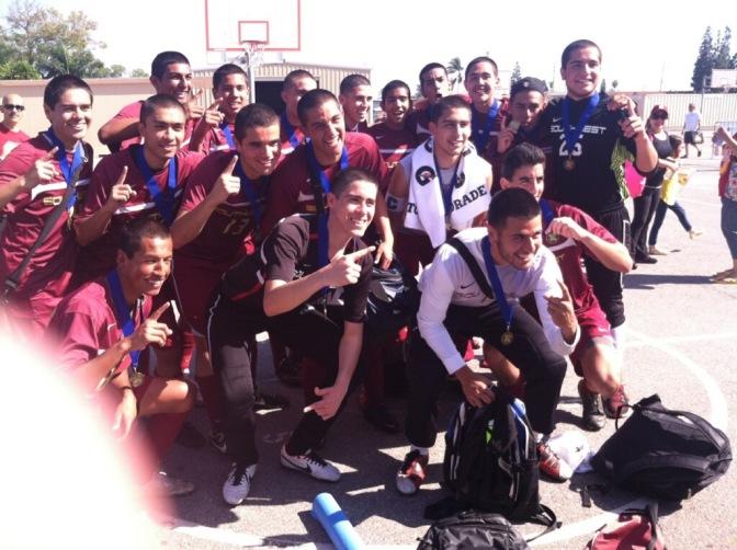 Southwest High Boys Varsity CIF Champions vs. Xolos' U17 Champions