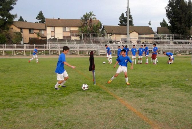 Matrix South Bay Hosts Soccer Clinic, Thanks to Army National Guard Soccer