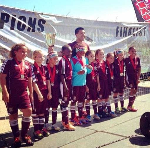 U9G Team Captures Crusaders Cup