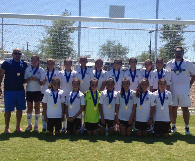 South Bay's U13G Team Knocks off Nevada State Champs