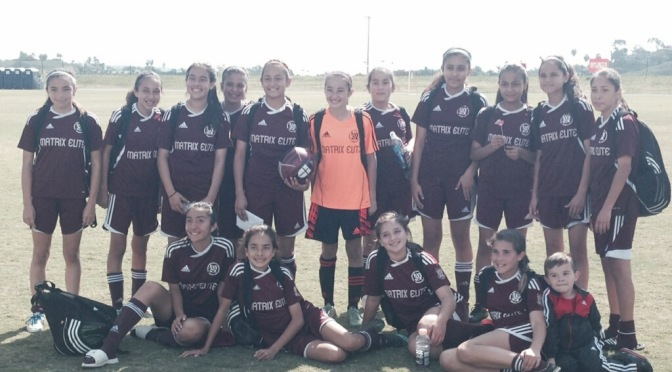U13G Matrix SB Team Advances to State Cup Quarter-Finals!