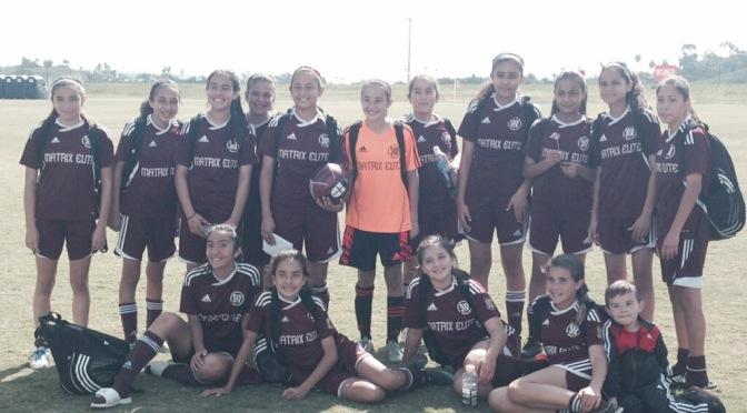 U13G Matrix SB Team Advances to State Cup Quarter-Finals!