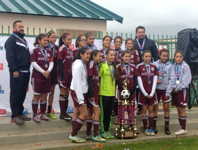 State Cup Finalists: Matrix South Bay U13G
