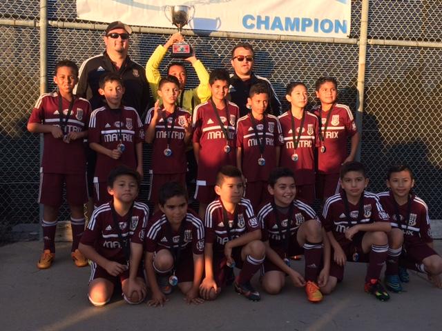 U11B Presidio Cup Champions