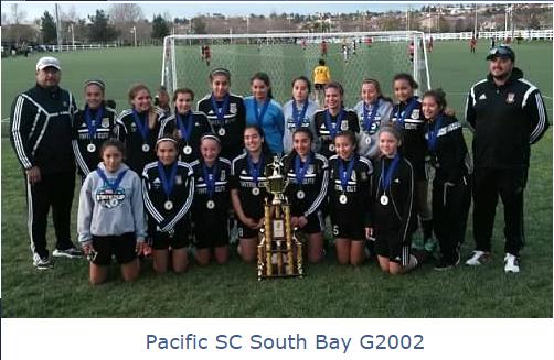 af843cba9 2016 team PSC G2002 SB. Advertisements. American Youth Soccer  OrganizationAYSOMatrix EliteMatrix South BayPacific ...