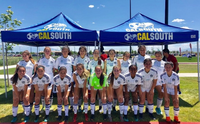 South Bay Girls Reach USYS Far West Finals